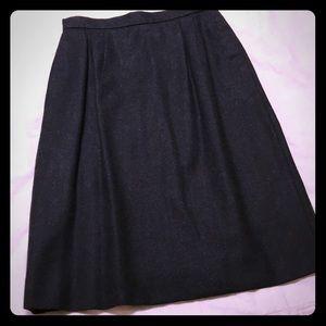 Jones New York 4 charcoal wool suit skirt
